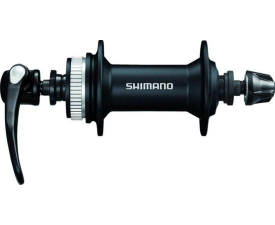 Shimano Alivio HB-M4050 MTB első kerékagy, 32H, gyorszáras, tárcsafékes (Centerlock), fekete