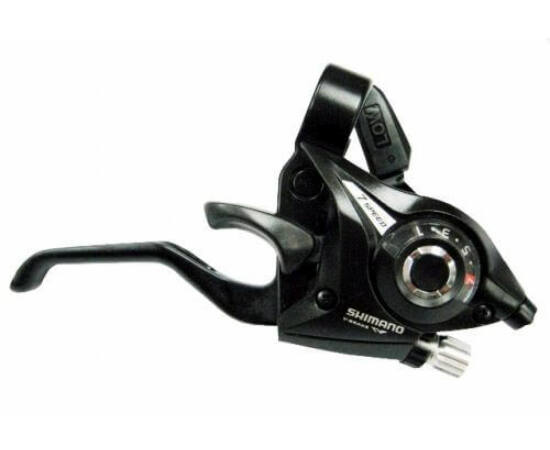 Shimano Tourney ST-EF51 fék-váltókar csak jobb - 7-es fekete