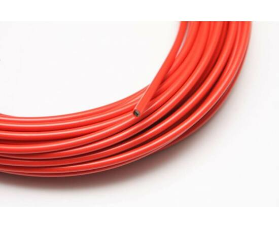 Spyral Color teflonos fékbowden-ház, 5 mm, piros