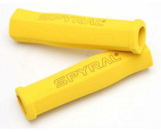 Spyral Hex Light szivacs markolat, 130 mm, sárga