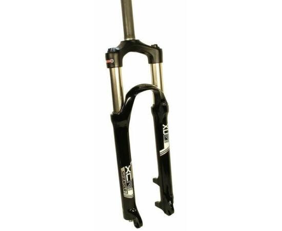 Suntour XCR-DS-LO 26-os MTB teleszkóp, A-Head nyakkal, 100 mm, fekete