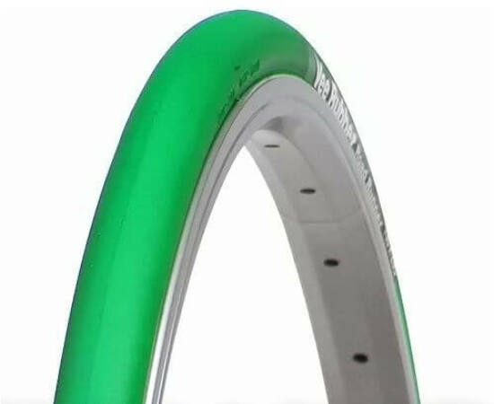 Vee Rubber Road Runner VRB308 622-23C (700x23C) külső gumi, zöld, kevlárperemes, 70TPI, Soft Compound, 230g