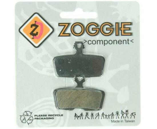 Zoggie fékbetét Avid Code R 2011 tárcsafékhez, acél alap, organikus pofa