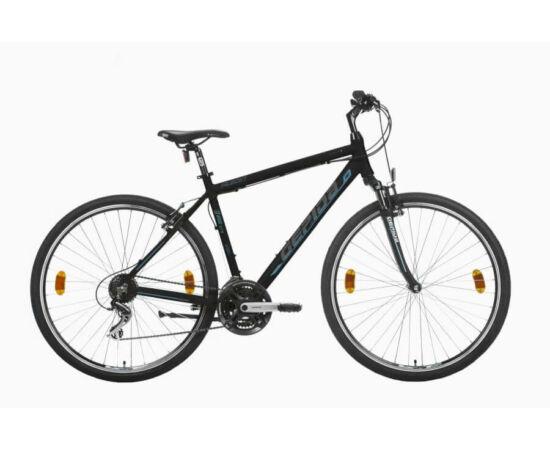 Gepida Alboin 200 CRS PRO alu 28-as férfi cross kerékpár, 21s, 48 cm, fekete-kék