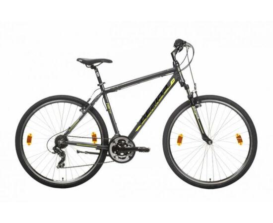 Gepida Alboin 200 CRS alu 28-as férfi cross kerékpár, 21s, 52 cm, szürke-sárga