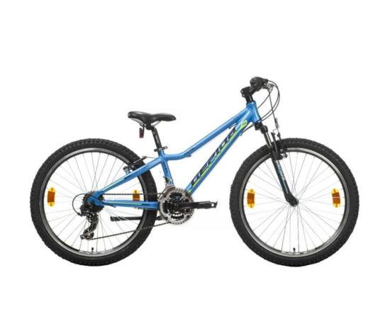 Gepida Gilpil 200 24-es junior kerékpár, 21s, alu, 29 cm, kék
