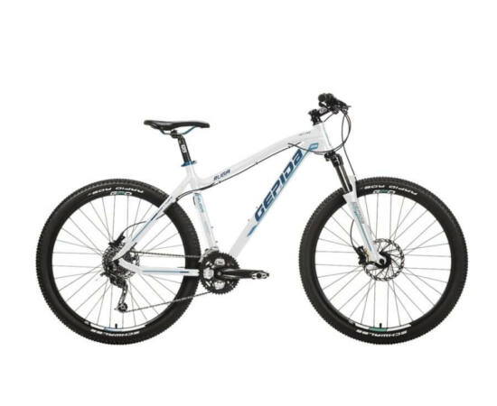 Gepida Ruga alu 27,5-es MTB kerékpár, 27s, 21 col, fehér