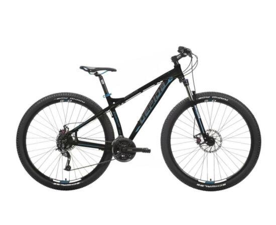 Gepida Sirmium alu 29-es MTB kerékpár, 24s, 19 col, fekete