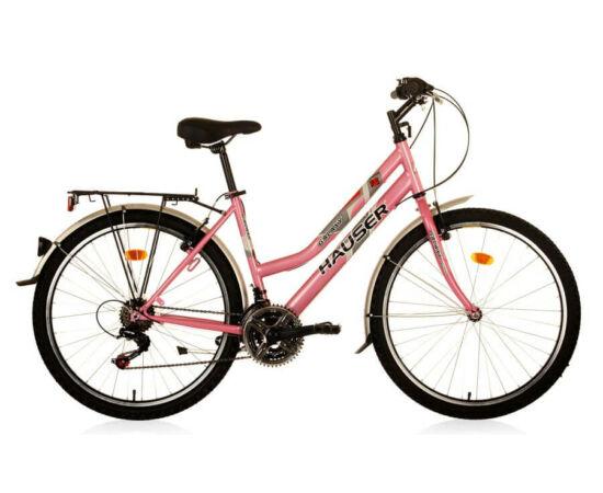 Hauser Galaxy City NŐI kerékpár rózsaszín