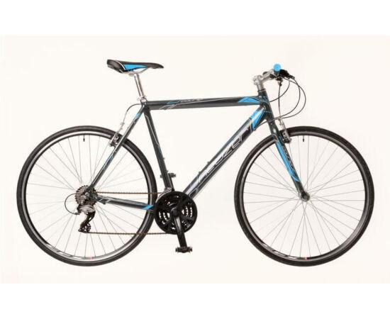 Neuzer Courier férfi 28-as cross kerékpár, alumínium, 21s, 48 cm, szürke-kék