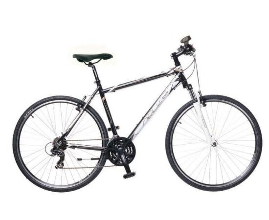 Neuzer X1 férfi 28-as cross kerékpár, 21s, alumínium, 21-es, fekete-fehér-bronz