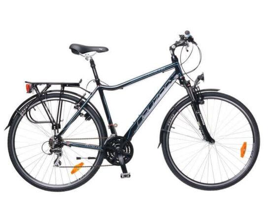 Neuzer Ravenna férfi trekking kerékpár 19-es fekete-cián