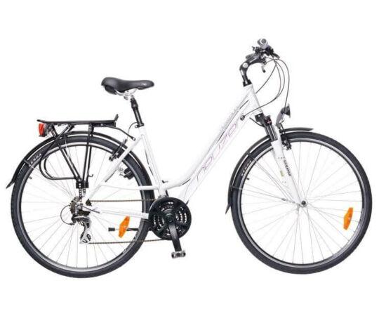 Neuzer Ravenna női trekking kerékpár 19-es fehér-lila