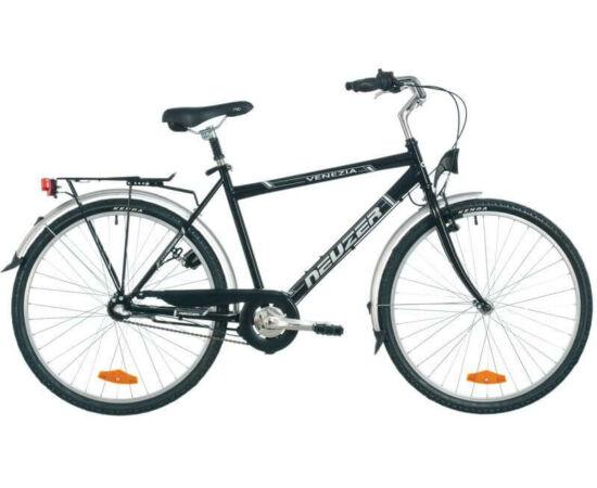 Neuzer Venezia N3 26-os férfi városi agyváltós kerékpár, fekete, 19-es