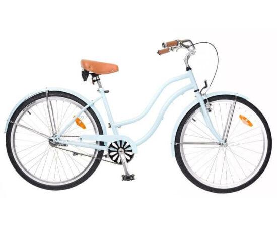 Neuzer Beach 26-os női cruiser kerékpár, világoskék