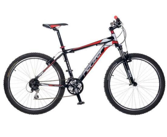 """Neuzer Tempest Plus férfi sport 26"""" MTB kerékpár 19-es fekete-piros-fehér"""