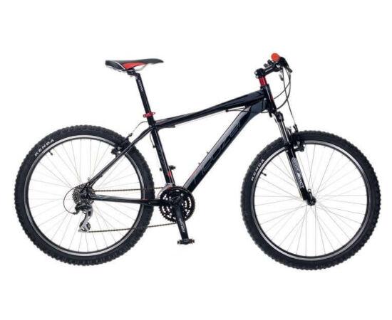 """Neuzer Storm Plus férfi hobbi 26"""" MTB kerékpár 19-es fekete-szürke-piros"""