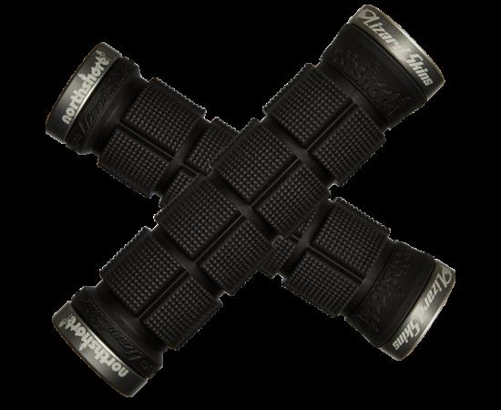 Lizard Skins Northshore bilincses markolat, 130 mm, fekete, szürke bilinccsel
