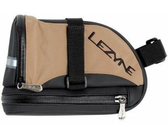 Lezyne L-Caddy nyeregtáska 1 liter, fekete-barna