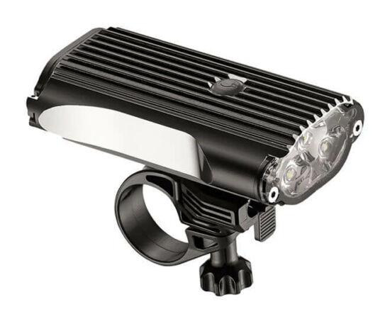 Lezyne Mega Drive 1400lm első lámpa, fekete