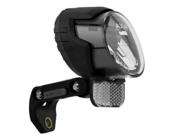 Axa LUX 70+ dinamós első lámpa kapcsolóval, állófény és USB töltő funkcióval