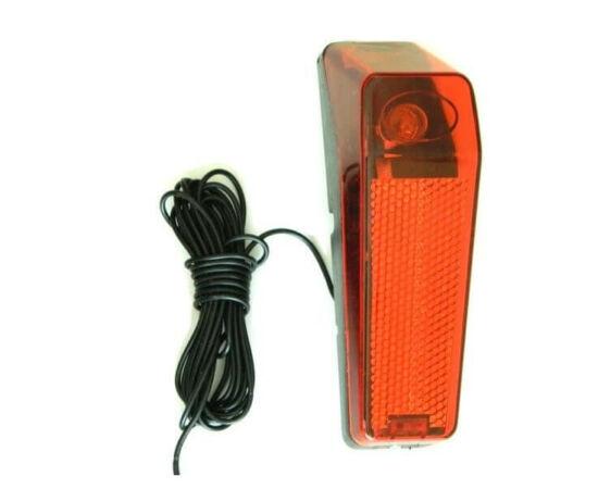 Velotech dinamós hátsó lámpa sárvédőre