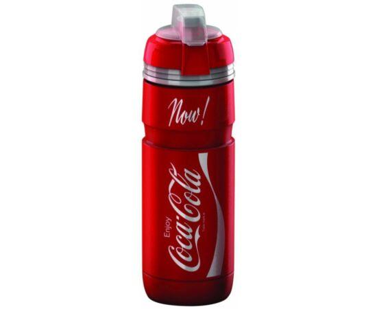 Elite Corsa Coca-Cola kulacs 750 ml csavaros, védőkupakkal, piros