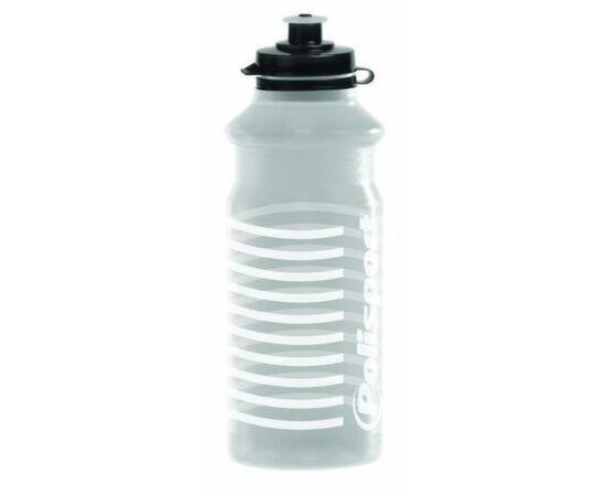 Polisport White Stripes kulacs 700 ml, pattintós, átlátszó