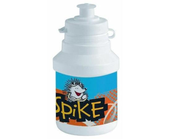 Polisport Junior Spike gyerek kulacs, 300 ml, pattintós, fehér-kék