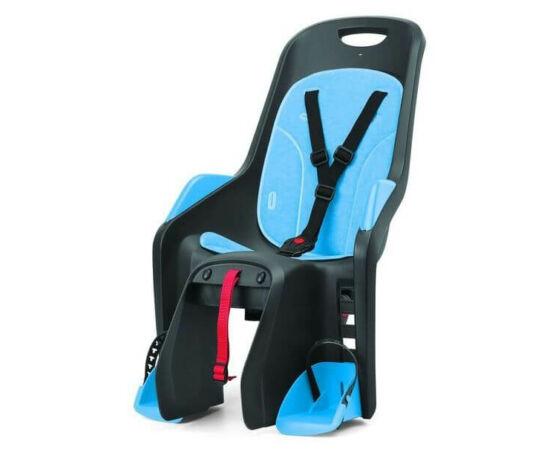 Polisport Bubbly csomagtartóra szerelhető gyerekülés, szürke-kék