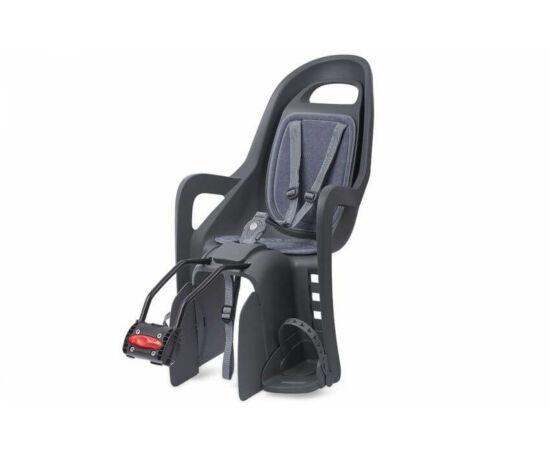 Polisport Groovy adapteres gyerekülés (vázra) fekete-szürke