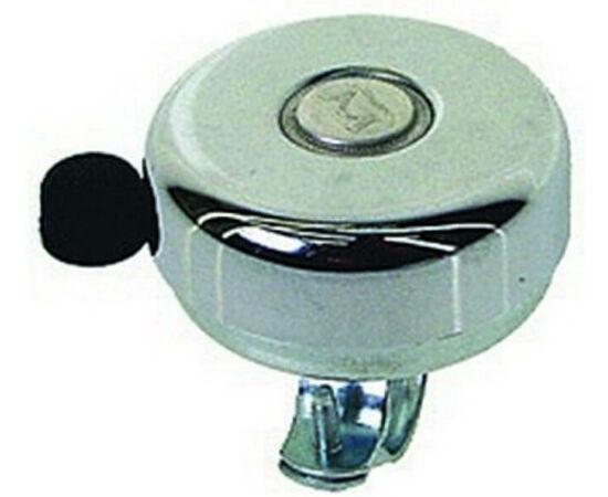 Neuzer acél csengő, 59 mm, krómozott