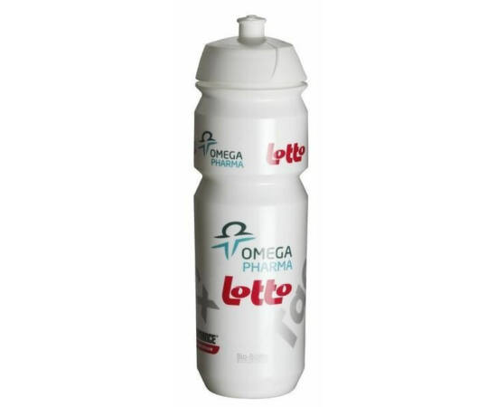 Tacx Shiva Pro Team Omega Pharma kulacs 750 ml csavaros fehér