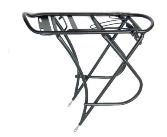Ostand CD-46A csomagtartó 26-28 colos kerékpárokhoz, alumínium, fekete