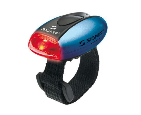 Sigma Micro hátsó villogó LED lámpa, kék