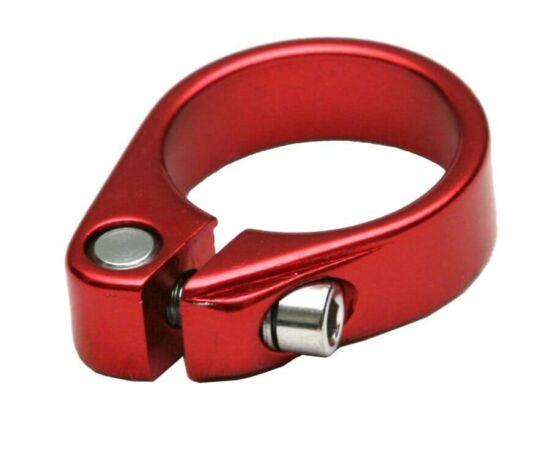Spyral Basic csavaros nyeregcső bilincs, 31,8 mm, piros