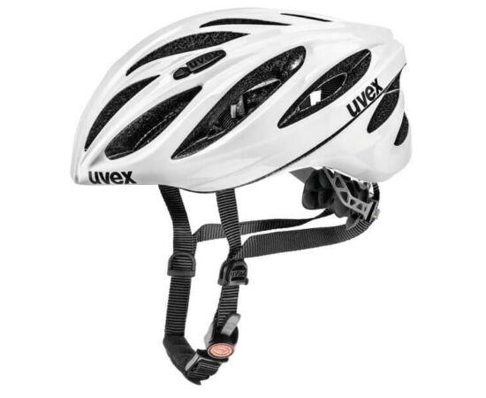 Uvex Boss Race országúti bukósisak, 55-60 cm, fehér