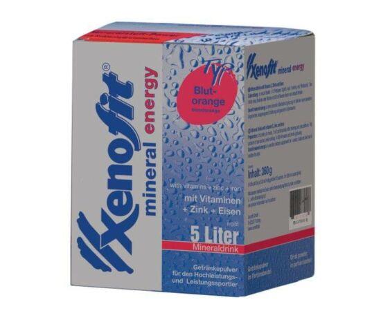 Xenofit Mineral Energyinstant ásványi italpor, 130g (5 liter), vérnarancs ízű