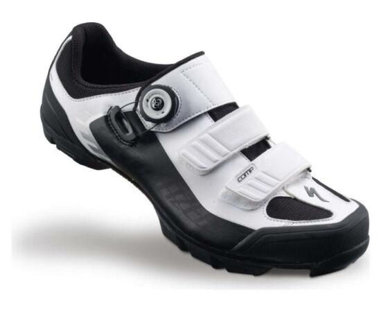 Specialized Comp MTB kerékpáros cipő, fehér-fekete, 44,5-es