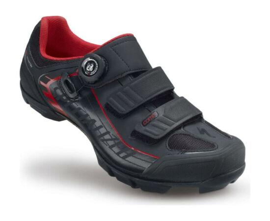 Specialized Comp MTB kerékpáros cipő, fekete-piros, 42-es