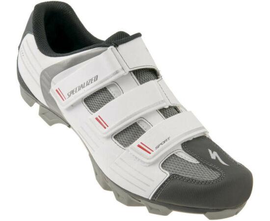 Specialized Sport MTB kerékpáros cipő, fehér, 47-es