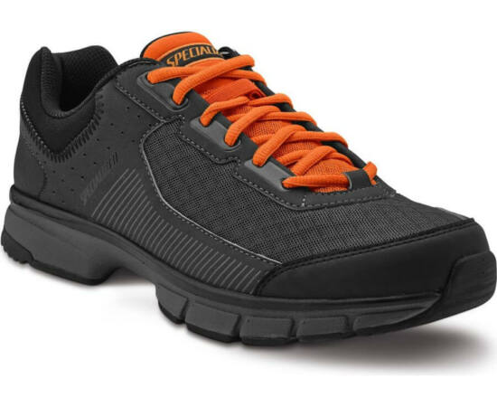 Specialized Cadet SPD MTB kerékpáros cipő, fekete-narancs, 46-os