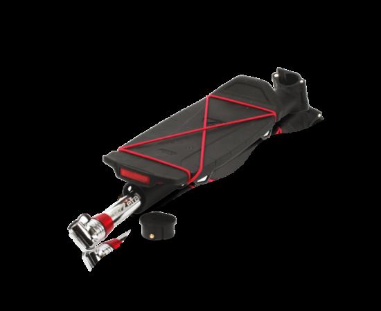 Zefal Rodeo nyeregcsőre szerelhető csomagtartó, alumínium, fekete