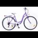 Neuzer Ravenna 6 Plus női városi kerékpár, lila