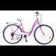 Neuzer Ravenna 6 Plus női városi kerékpár, rózsaszín