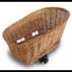 Basil Pasja közepes méretű fonott kisállat szállító hátsó kosár, 45x37x31 cm, barna