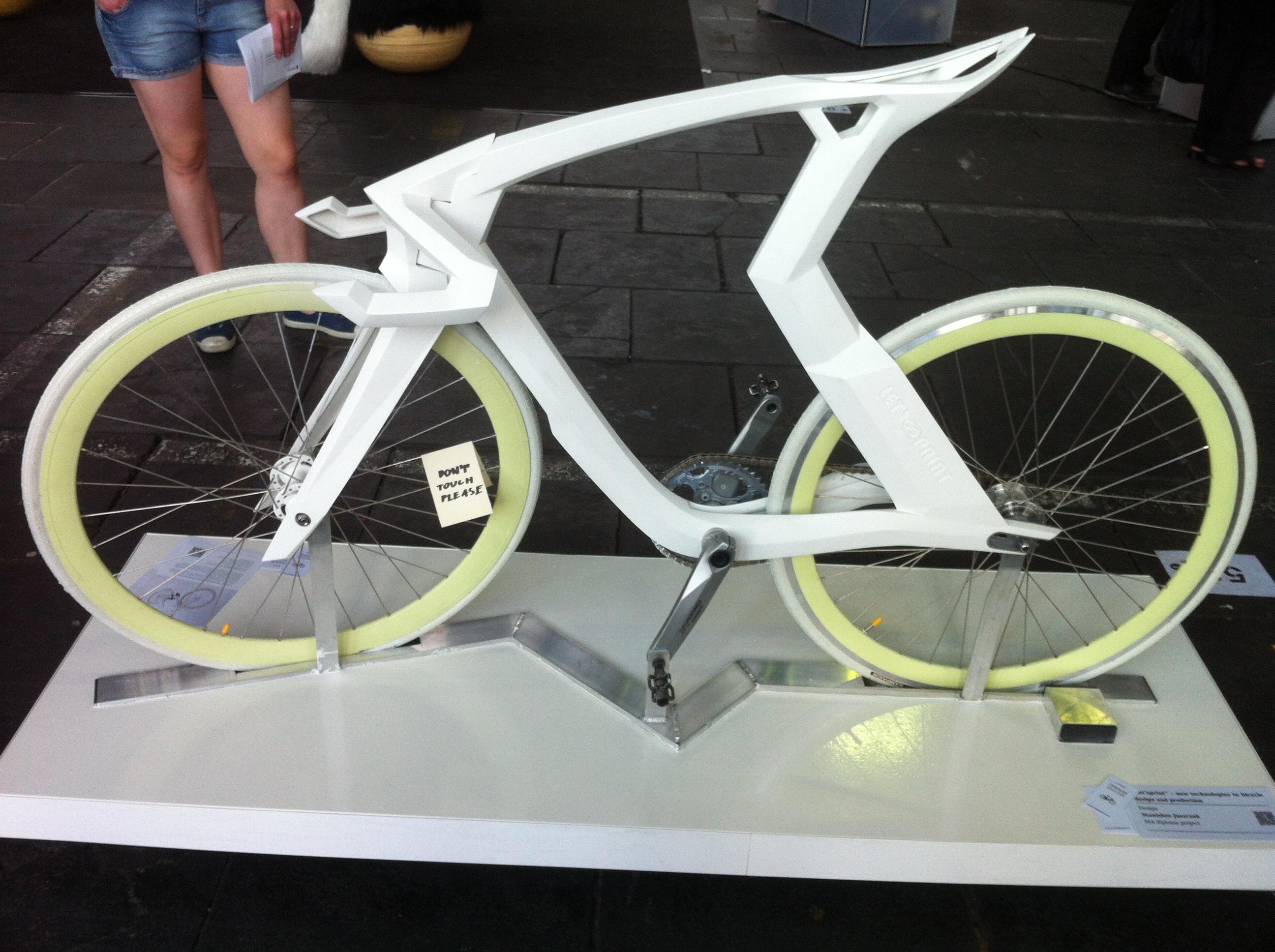 3d Printed Road Bike